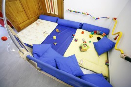 A play corner for our youngest children