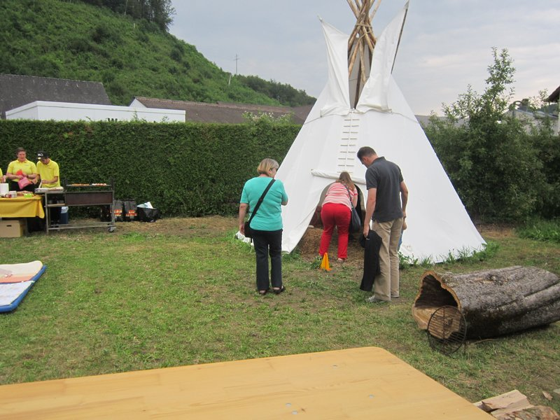 Official Opening Tipi Tent